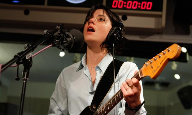 Sharon Van Etten performs in the Soundcheck studio.