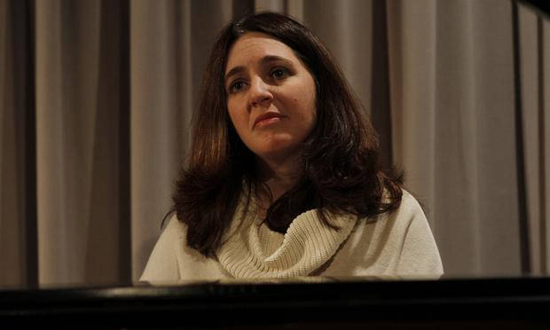 Simone Dinnerstein performs in the Soundcheck studio.
