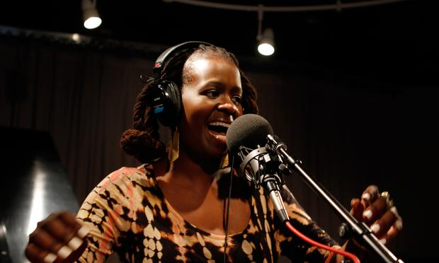 Somi performs in the Soundcheck studio.