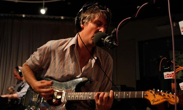 Stephen Malkmus and the Jicks perform in the Soundcheck studio.