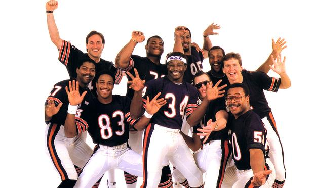 The Chicago Bears' rap song 'The Super Bowl Shuffle' became a huge hit, peaking at No. 41 on the Billboard Hot 100 charts in 1986.