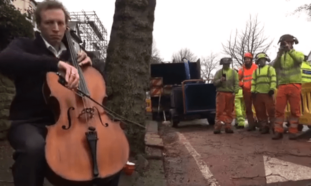 Cellist Tim Smedley plays Casals' 'The Song of the Birds'