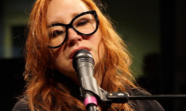 Tori Amos performs in the Soundcheck studio.