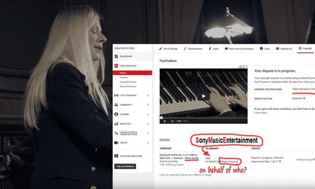 Valentina Lisitsa at piano