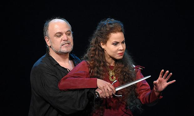 Verdi's 'Macbeth' from the Champs-Elysées Theatre in Paris, starring soprano Susanna Brancini as Lady Macbeth, and baritone Roberto Frontali in the title role.