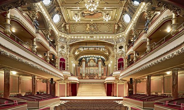 Victoria Hall in Geneva, Switzerland.