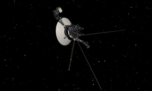 Voyager in Space (Artist Concept)