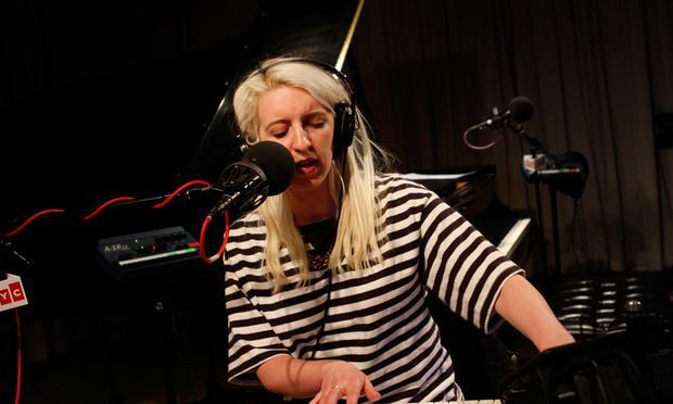 White Hinterland performs in the Soundcheck studio.