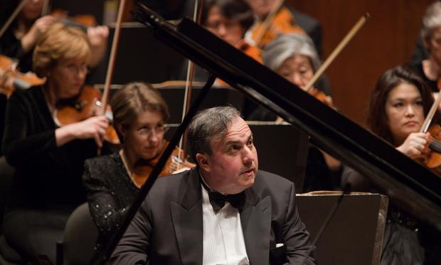Pianist Yefim Bronfman.