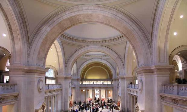 lobby of the Met Museum