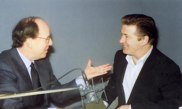 Gilbert Kaplan with Alec Baldwin