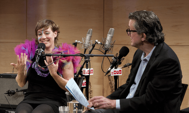 Merrill Garbus (tUnE-yArDs) explains how her previous career as a puppeteer impacted her performance style.
