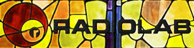 Radiolab stained glass logo