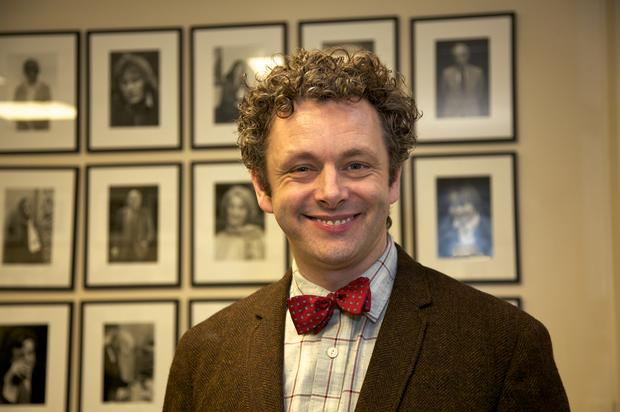 Michael Sheen Backstage
