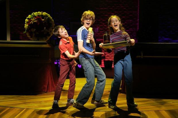 Oscar Williams, Zell Steele Morrow, and Sydney Lucas in 'Fun Home'