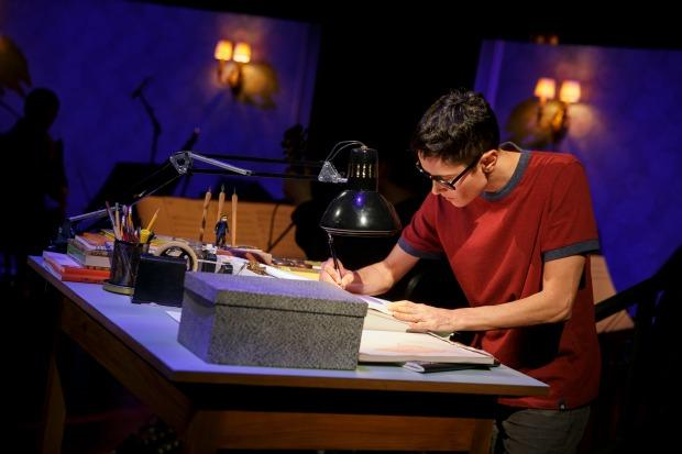 Beth Malone as Alison Bechdel in 'Fun Home'