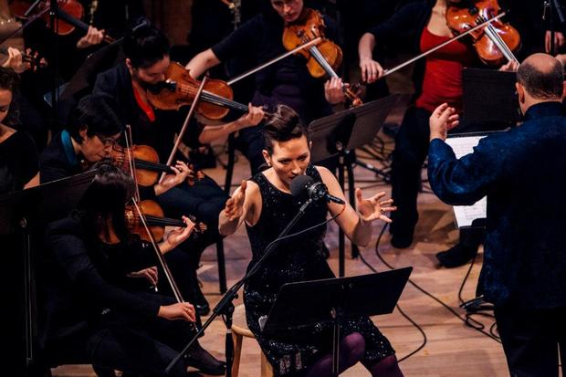 Shara Worden and Orchestra for the New Century at 2013 Ecstatic Music Festival