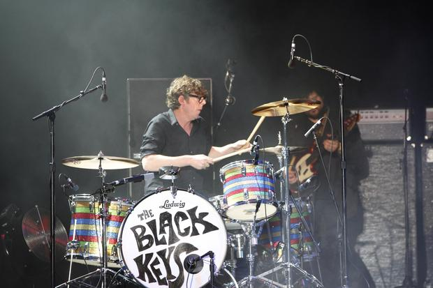 The Black Keys' Patrick Carney performs on the GovBallNYC stage on Randall's Island in New York on June 7, 2015.