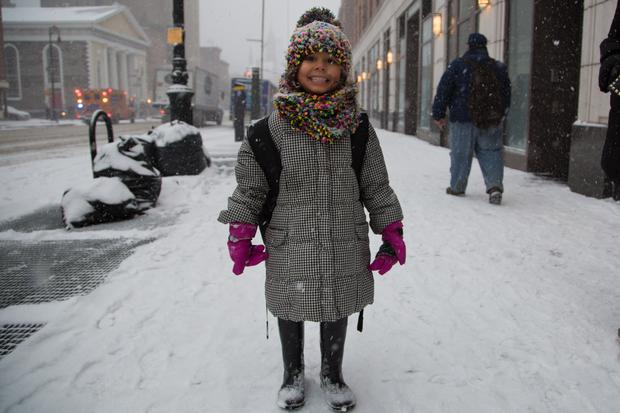 'My name is Luz and I love the snow!'