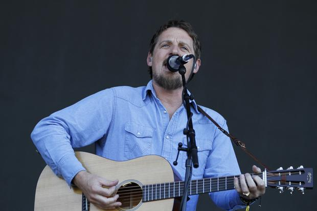 Sturgill Simpson performs on the GovBallNYC stage at Governors Ball on June 7, 2015.