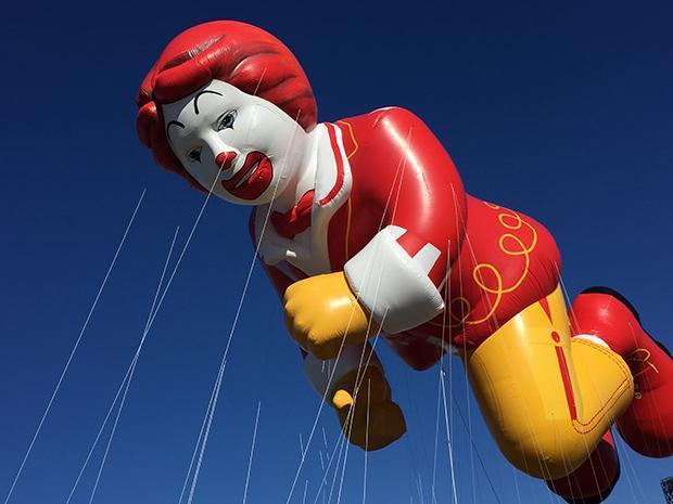 Ronald McDonald (courtesy of Macy's)