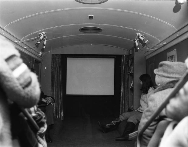 New York City's Cinemobile 1968