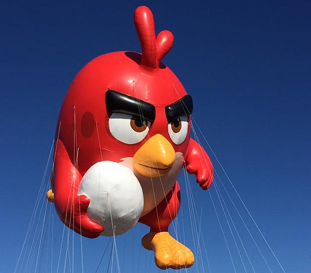 Angry Birds' Red (courtesy of Macy's)