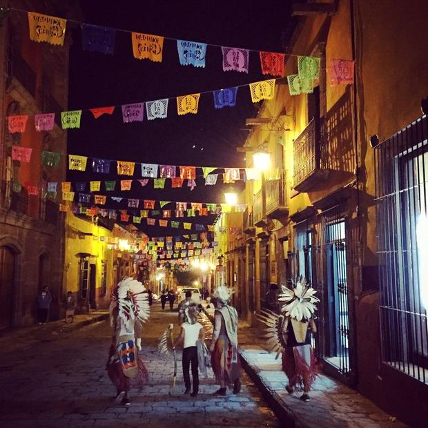 Celebration of San Miguel Archangel in San Miguel de Allende, Mexico