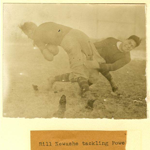 Tackling practice, Carlisle Indian School, 1910