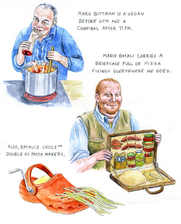 From The Secret Lives of Chefs