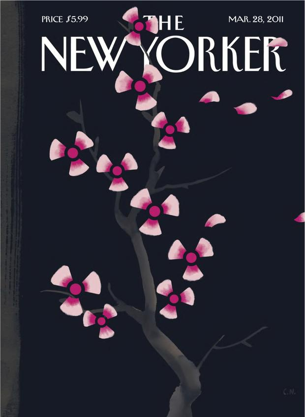 One of Christoph Niemann's 'New Yorker' covers