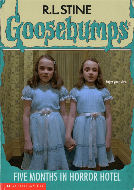 'The Shining' re-imagined as a 'Goosebumps' story