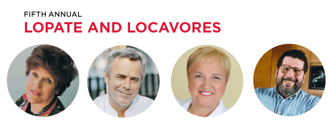 Lopate and Locavores