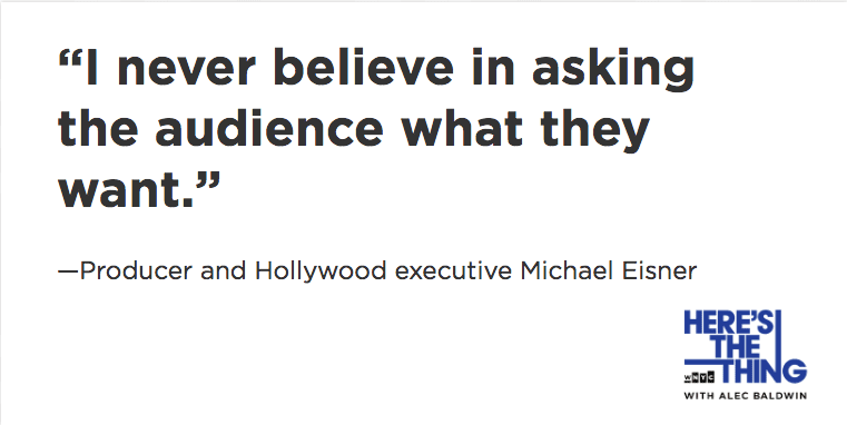 Michael Eisner quote