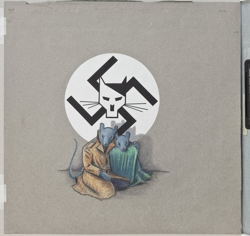 Art Spiegelman, cover art for Maus I, first edition, c. 1986