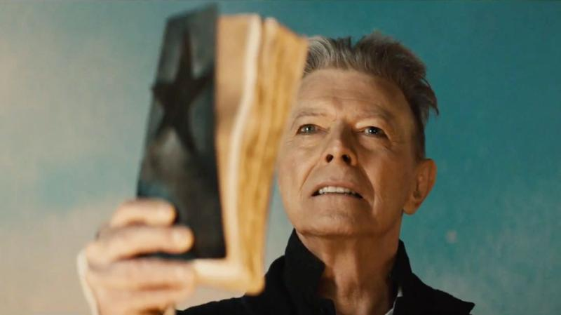 A still from the video for David Bowie's 'Blackstar.'