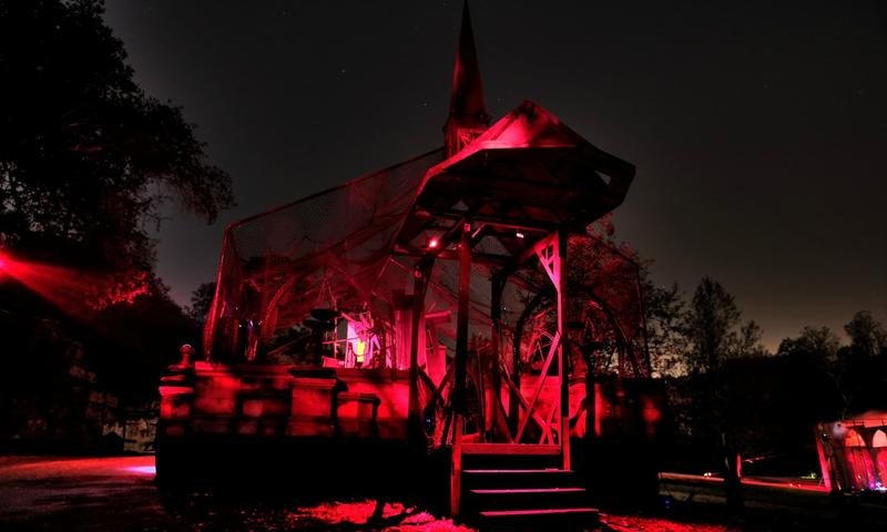 LA's Haunted Hay Ride plays original spooky music by Chris Thomas