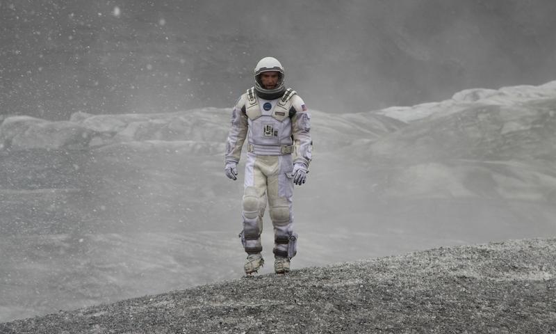 Matthew McConaughey in <em>Interstellar</em>