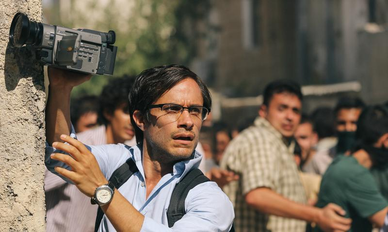 Gael García Bernal stars as Maziar Bahari in <em>Rosewater</em>, directed by Jon Stewart
