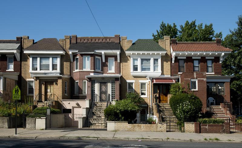 Houses in Astoria, Queens.