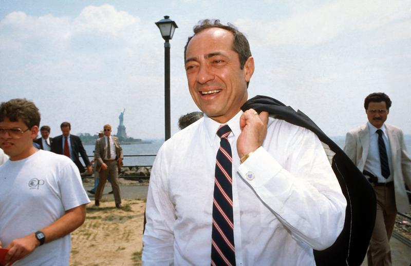 Former Governor Mario Cuomo, Liberty State Park, 1986