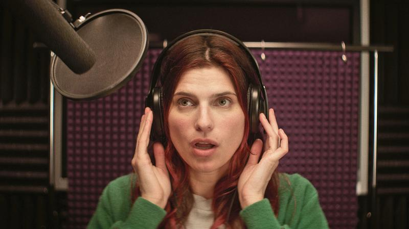 "Lake Bell, in her film ""In A World..."""