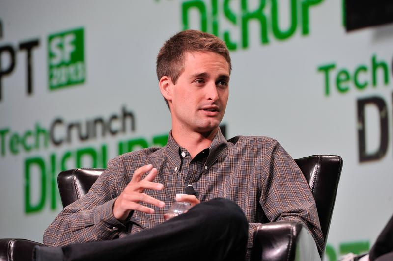 Evan Spiegel of Snapchat attends TechCruch Disrupt SF 2013 at San Francisco Design Center on September 9, 2013 in San Francisco, California.