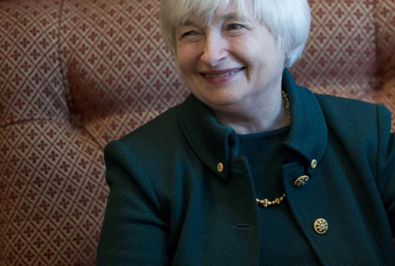 Janet Yellen, Vice Chair of the Board of Governors of the Federal Reserve and nominee for the Federal Reserve Chair