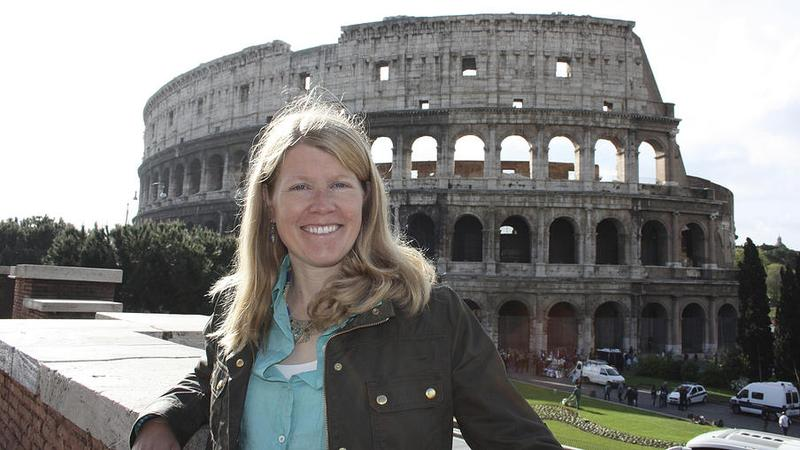 """TED Fellow Sarah Parcak focuses on """"space archaeology"""" — the practice of using satellite images to search for clues to the lost sites of past civilizations."""