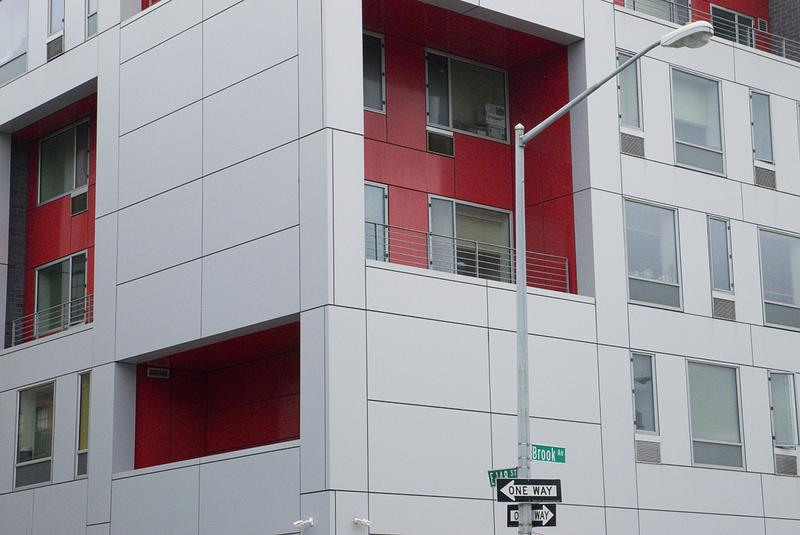 The Brook supportive housing in the Mott Haven neighborhood of the South Bronx.
