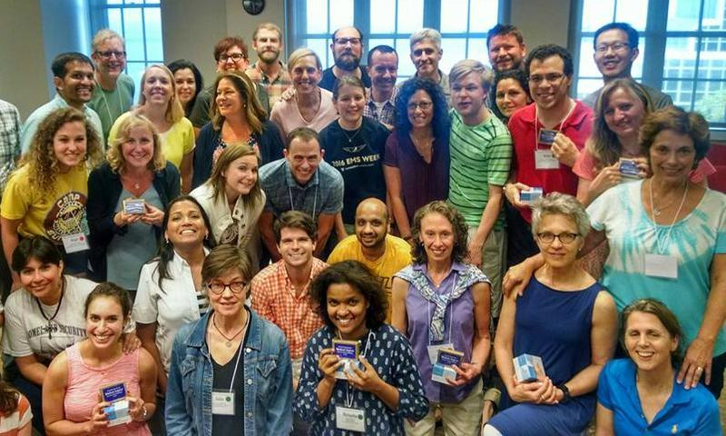 The instructors and attendees of the Fourth International Medical Improv Train-the-Trainer Workshop hosted by The Northwestern Center for Bioethics & Medical Humanities