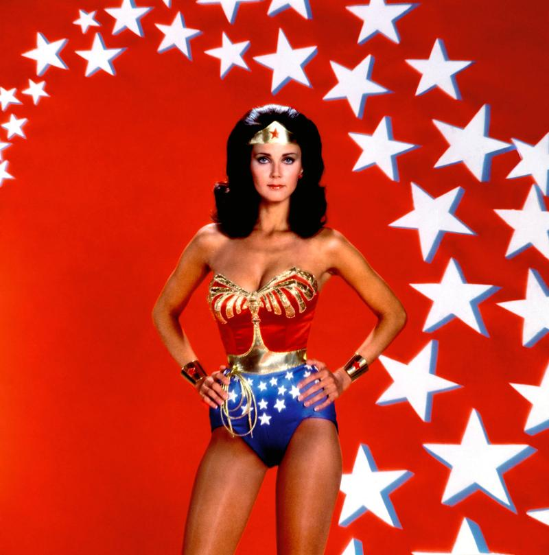 Lynda Carter in Wonder Woman, 1970c.