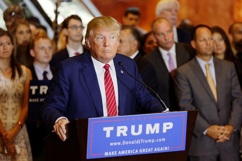 Donald Trump, September 2015