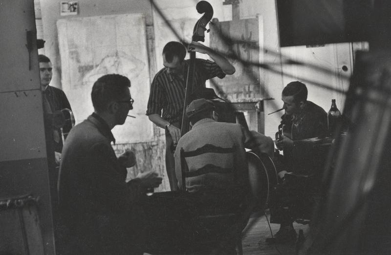 Jam session with Bob Brookmeyer, Bill Crow, Jim Hall, others